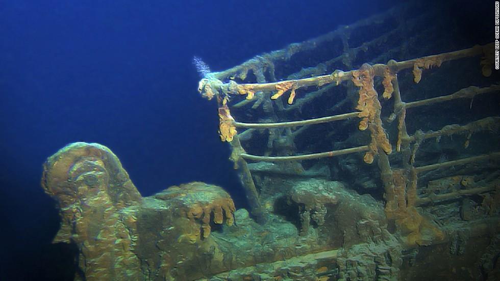 1. Descenso al naufragio del Titanic, Océano Atlántico