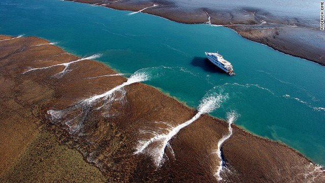 This remote and beautiful part of Australia is the country's adventure cruise hotspot. The season is from April through to September, when the torrential rains have eased and water cascades off the plateau.