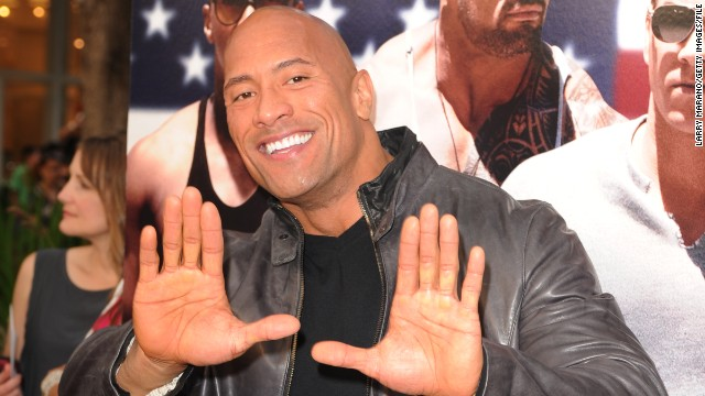 Dwayne Johnson is 2013's highest-grossing actor