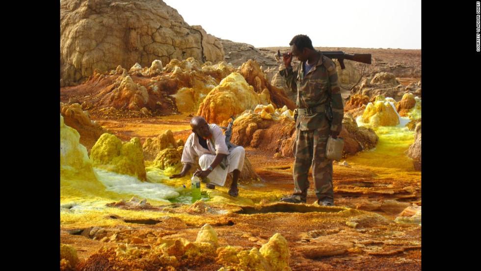 Desierto Afar, Etiopía