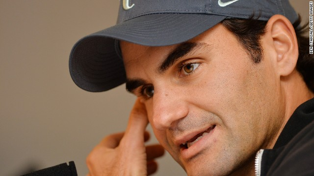 Roger Federer voiced strong opinions on the lack of drugs testing at the top level of tennis.