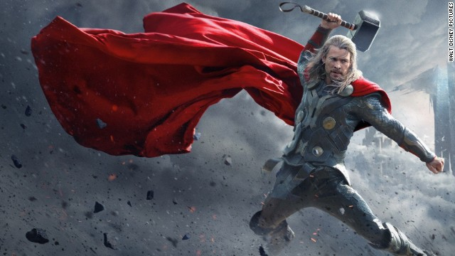 Chris Hemsworth stars as the Norse god Thor in the sequel