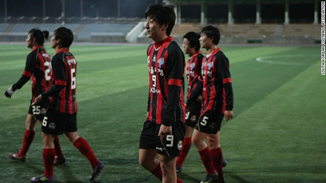 "South Korean soccer player Park Eun-seon is coming under ""humiliating"" scrutiny, with rival teams threatening to boycott competitive matches and questioning her gender."