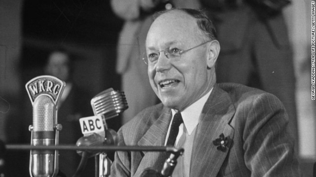 Sen. Robert A. Taft is one of three Tafts to represent Ohio in the U.S. Senate.