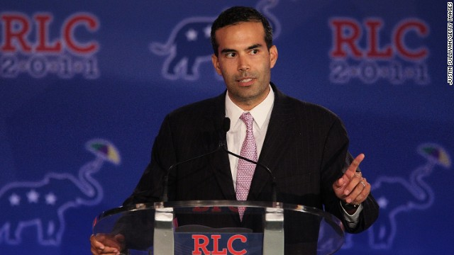 George P. Bush speaks during the 2011 Republican Leadership Conference in New Orleans on June 18, 2011. The grandson of former President George H.W. Bush is a candidate for commissioner of the Texas General Land Office in 2014