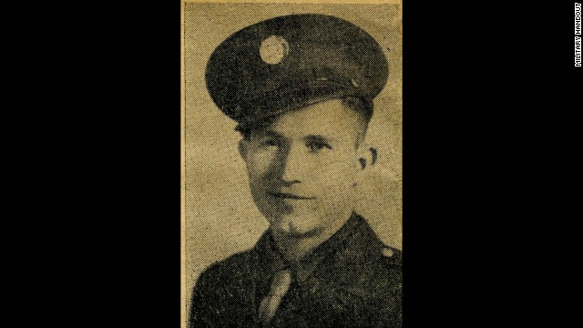 Army Pfc. Clarence M. Merriott, 21, of Stilwell, Oklahoma was killed on D-Day+13, June 19, 1944, off the coast of Utah Beach in France. Merriott served with the 300th Engineer Combat Battalion.