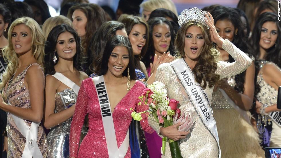Una venezolana, Miss Universo 2013