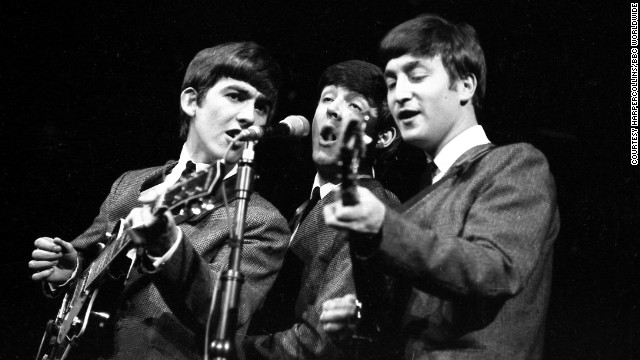 "The Beatles were against wearing suits. Again, not true, says Lewisohn. Though Lennon later trashed the neat look as a sellout demanded by manager Brian Epstein, in the early '60s they were eager for a change. ""I just saw it as playing a game,"" said Harrison. ""I'll wear a f****** balloon if somebody's going to pay me!"" said Lennon."