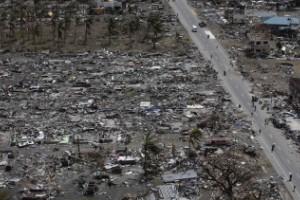 La destrucción en Tacloban