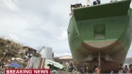 Typhoon Haiyan's path of destruction