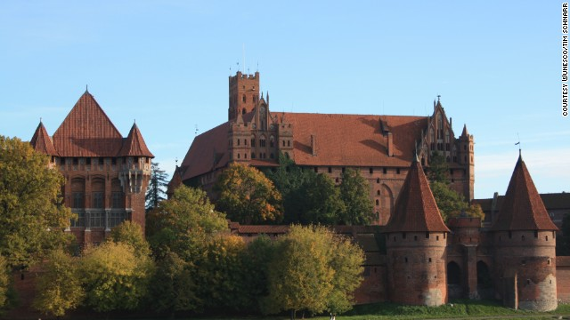 The Castle of the Teutonic Order is a 13th century fortified monastery and a fine example of medieval brick architecture.