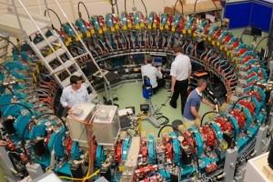 Energía de... aceleradores de partículas