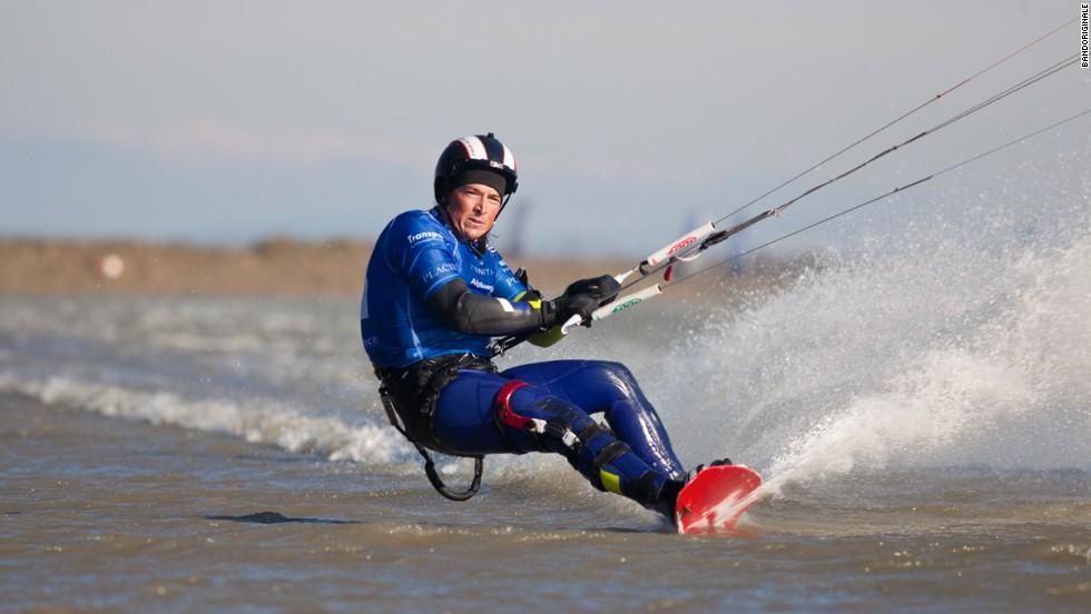El kitesurfista más rápido del mundo