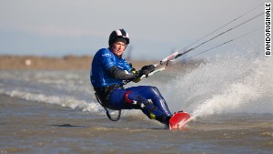 World's fastest kitesurfer