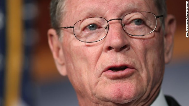 Sen. Inhofe describes 'horrible loss' following son's death