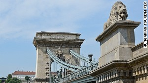 First bridge to stick Buda and Pest together permanently.