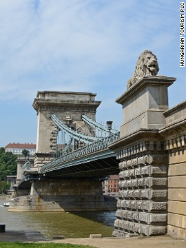 This important link between Buda and Pest was blown up during World Wart II, but replaced by a pretty good replica.