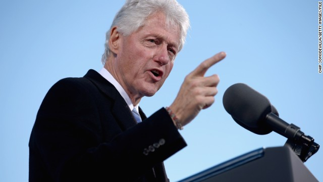 Bill Clinton: 'Wife might run for something'