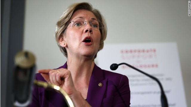 Warren: End 'too big to fail'