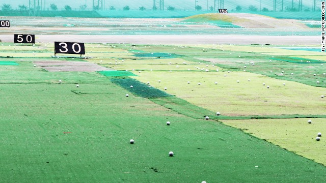 Getting some exercise and fresh air pre-flight was tied with Viagra as a jetlag cure in fifth place. Incheon Airport's spacious golf driving range could help there.