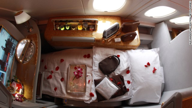 Staying awake in flight isn't a choice for the light sleepers among us, even with a sumptuous cabin like this. Some 40% said it helped cure their jetlag.
