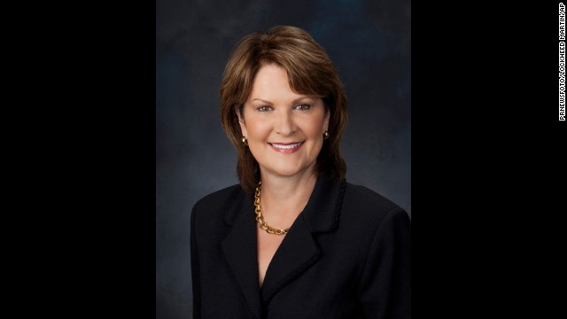 Lockheed Martin President and Chief Operating Officer Marillyn A. Hewson is ranked No. 59.