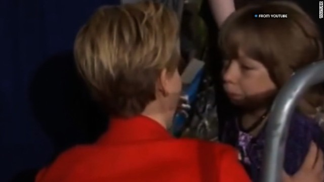 "When walking the red carpet at a ""Hunger Games: Catching Fire"" premiere in the U.K., Jennifer Lawrence stepped off to the side to comfort a young fan in a wheelchair. Although the video that caught the moment doesn't capture their verbal exchange, Lawrence's gentle and compassionate gestures speak volumes."