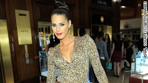 Carmen Carrera attends Fashion\'s Night Out at SAKS Fifth Avenue on September 8, 2011 in New York City.