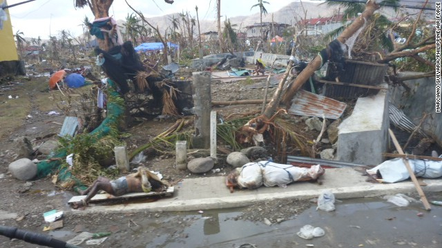 What started as a planning mission inspecting the area in Tacloban became a personal journey of horror and hope, said Guevara after witnessing the damage.
