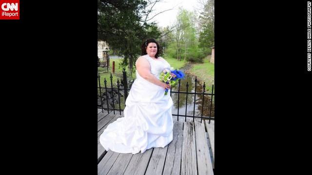 Privitera had to buy two wedding dresses; by the time her wedding came along in April 2011, her original dress no longer fit. She had to send her measurements overseas to get a second one custom made at the last minute.