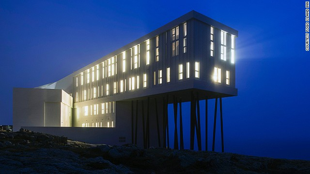 Modern architecture in a Canadian island fishing village.<strong> The Fogo Island Inn</strong> is a boutique eco hotel set against an ocean backdrop, and considered the best new hotel by Mr and Mrs Smith users and judges.