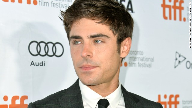 Zac Efron broke his jaw this weekend