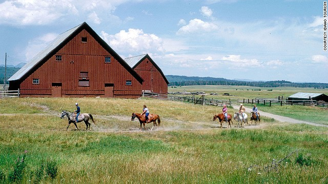 Barns are part of Idaho's cultural heritage, so much so that the state's Idaho Heritage Barn committee has created a free, self-guided tour of more than 100 of the state's most beautiful barns.