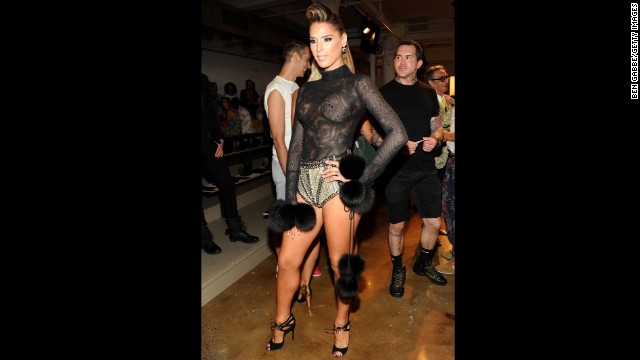 "Former ""Drag Race"" contestant Carmen Carrera wants to be the first transgender model to walk the runway for the Victoria's Secret fashion show. She is one of a few high-profile transgender people."