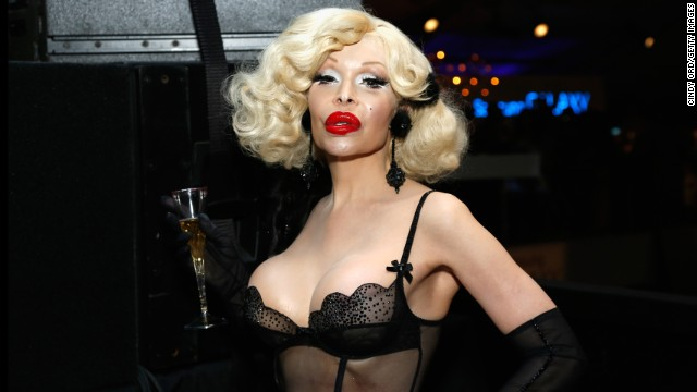 Amanda Lepore is an iconic mainstay on the fashion and New York nightlife scenes. She has been a muse for fashion photographer David LaChapelle.