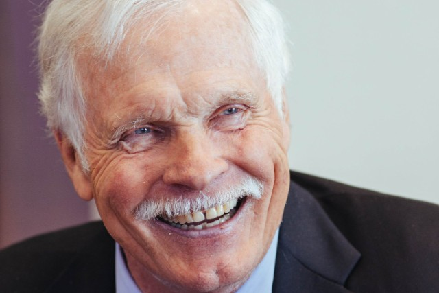Ted Turner founded CNN, the first 24-hour cable news network, in 1980.