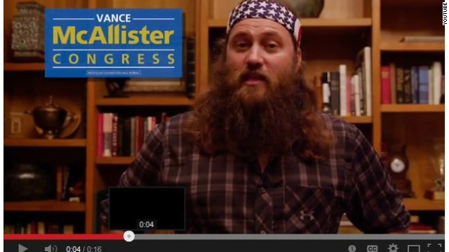 Duck Dynasty star on the campaign trail