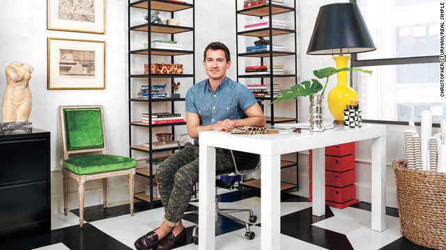 Meet Nick Olsen, the decor doctor.