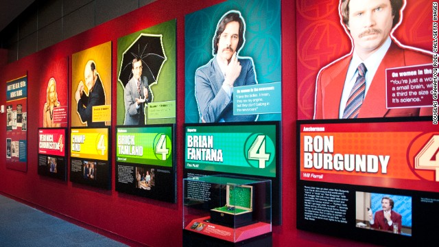 'Anchorman' exhibit in Washington