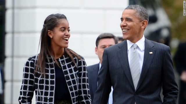 Obama reveals daughter Malia's peanut allergy at bill signing