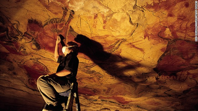 A similar motive -- preservation -- lay behind the creation by another group of a copy of the Altamira Cave, in Spain, with its prehistoric paintings.