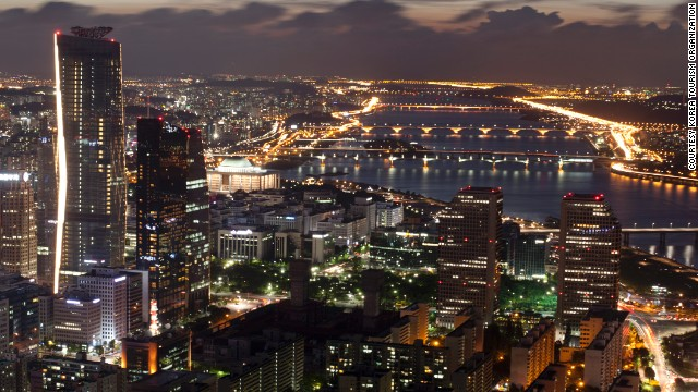 According to 2012 data from South Korea's Ministry of Strategy and Finance, South Koreans work 44.6 hours per week, compared to the OECD average of 32.8. You can see it in any Korean city, where lights in buildings blaze into the late hours as workaholics slave away.