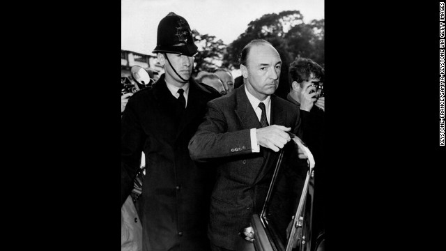 "The former British War Minister John Profumo returns to London after 14 days of absence on June 18, 1963. He resigned as British state secretary for war on June 5, after admitting he had lied in denying any ""impropriety"" with 21-year-old Christine Keeler. Profumo simultaneously resigned his seat in the House of Commons."