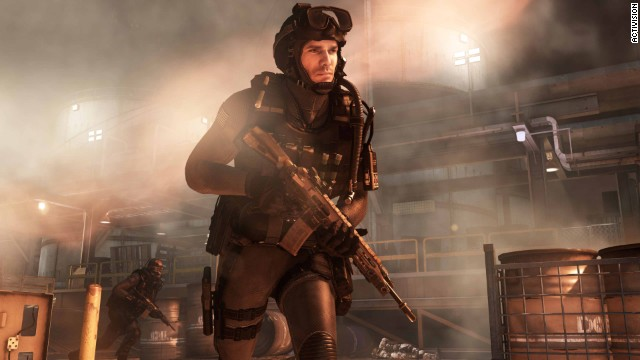 """Call of Duty: Ghosts"" is meant to be a ""fictitious thrill ride,"" creators say, although current and former military troops are consulted to make the game as authentic and accurate as possible."