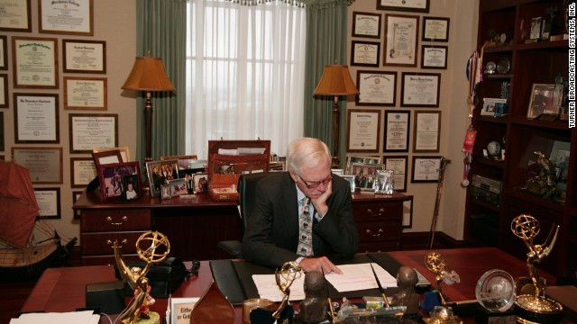 Turner in his Atlanta office in 2007.