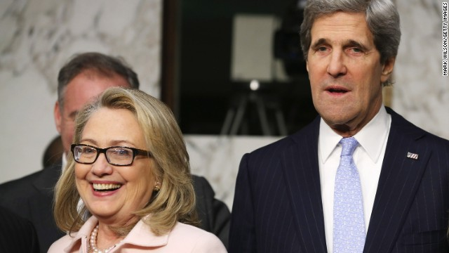 Kerry's advice on how to marry women like Clinton