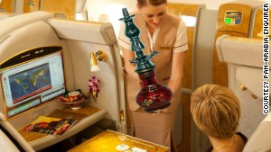 After running a story about Emirates introducing shisha on their flights, the carrier received requests from interested customers