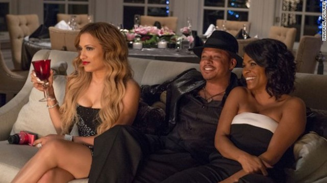 Melissa De Sousa, Terrence Howard and Regina Hall star in