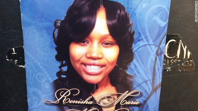 Photo of Renisha McBride, 19, a Detroit woman who was shot and killed on the front porch of a home.