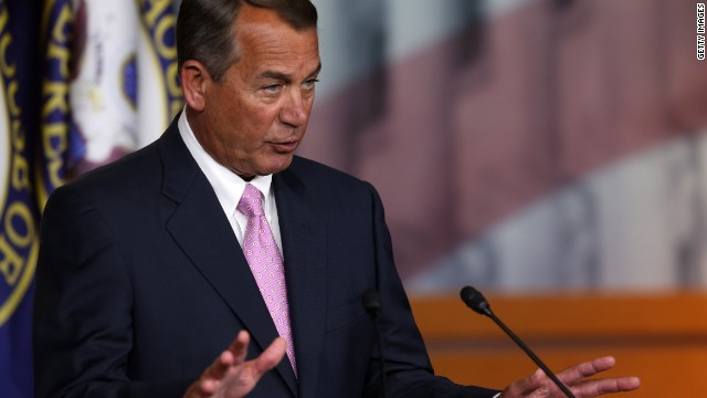 Don't expect Boehner to totally change his tune